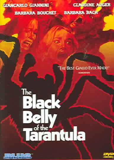 BLACK BELLY OF THE TARANTULA BY BACH,BARBARA (DVD)